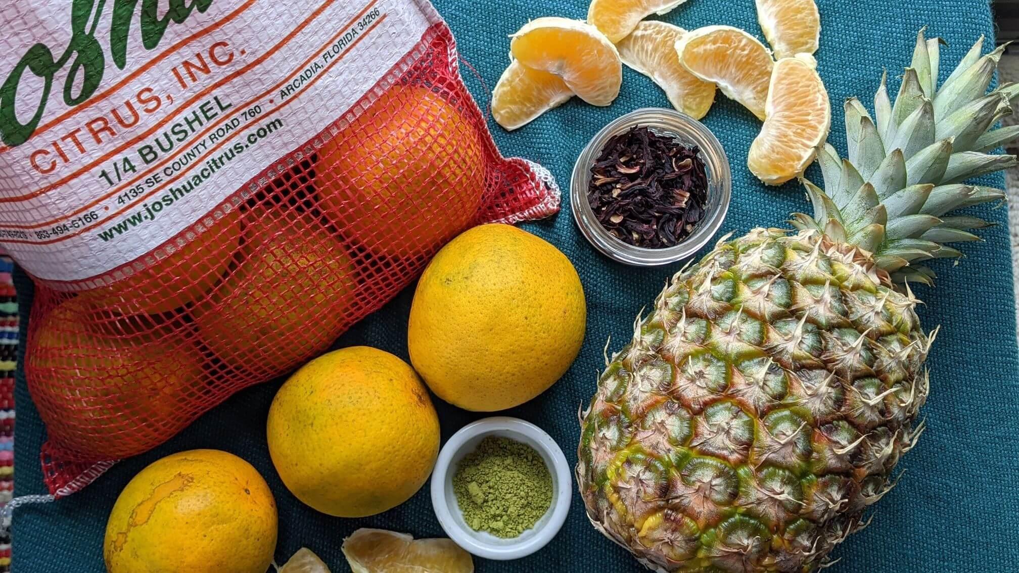 High Vitamin C Kombucha